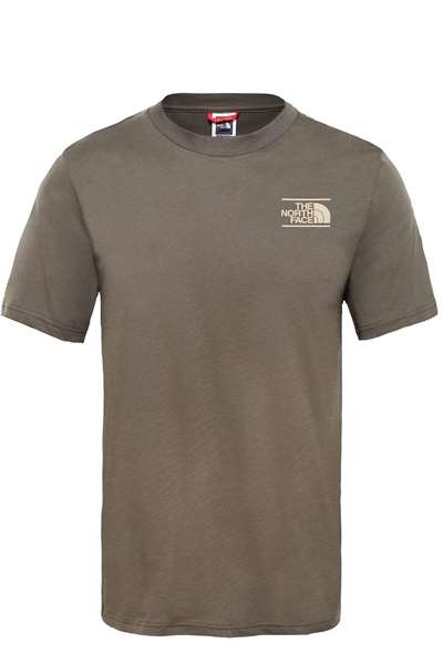 Resim The North Face T93S3R M S/S Mountain Tee-Eu Erkek T-shirt