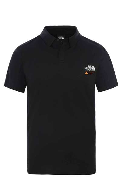 Resim The North Face NF0A4CEH M Glacier S/S Polo Erkek T-shirt